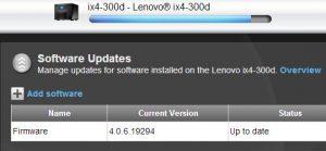 IX4-300d software update