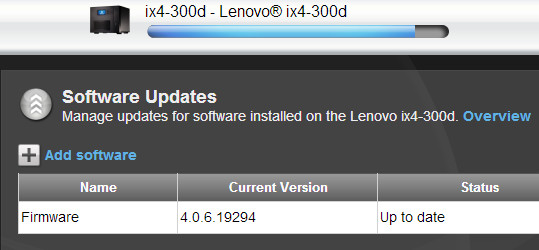 IX4-300d software update