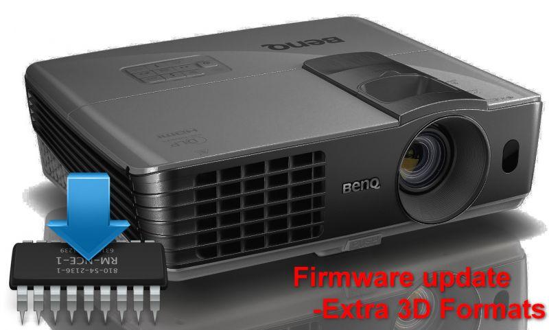 Benq W1070 Beamer Firmware Update Header