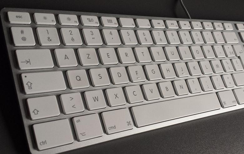 AZERTY apple keyboard belgium