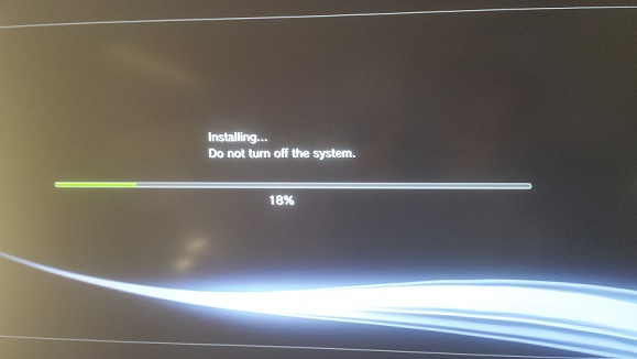 PS3 Installing Custom Firmware