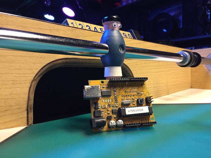 Diy automate your football table with arduino steven b