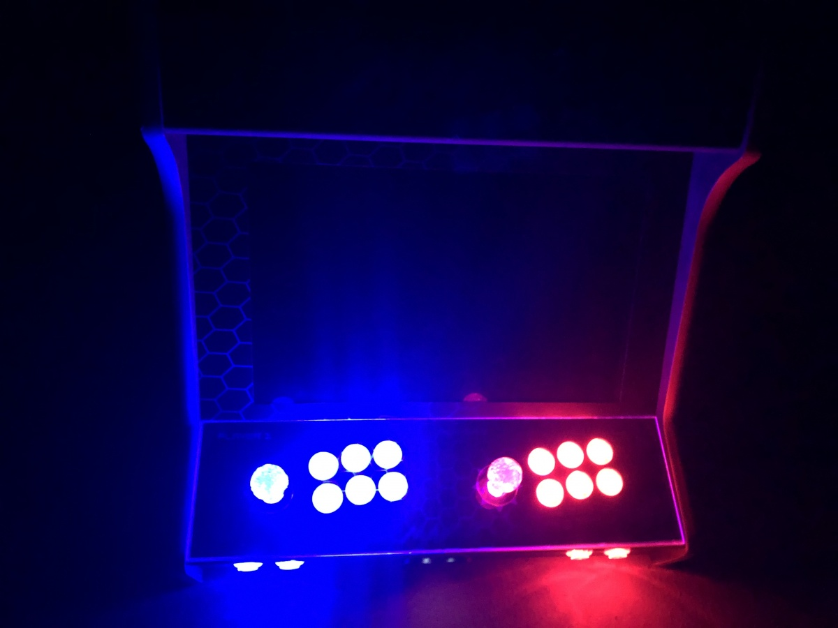Build a Bartop Arcade Cabinet using Raspberry Pi - Steven B